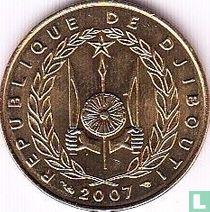 Djibouti 10 francs 2007