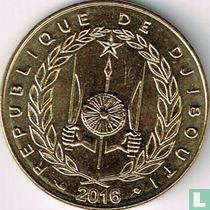 Djibouti 20 francs 2016