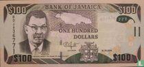 Jamaica 100 Dollars 2016