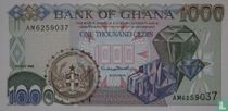 Ghana 1.000 Cedis 1999