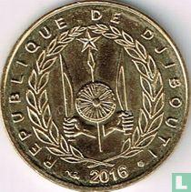 Djibouti 10 francs 2016