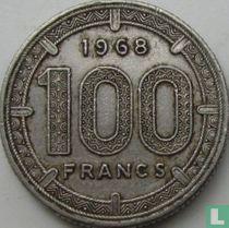 Equatoriaal-Afrikaanse Staten 100 francs 1968