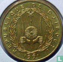 Djibouti 500 francs 1991