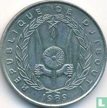 Djibouti 50 francs 1989