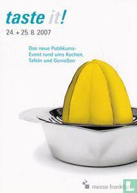 """Messe Frankfurt """"taste it!"""""""