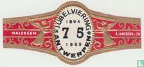Jubelviering 1894 75 1969 Antwerpen - Maldegem - R. Janssens & Zn