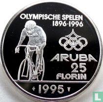 Aruba 25 florin 1995 (PROOF - with logo)