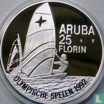 "Aruba 25 florin 1992 (PROOF) ""Summer Olympics in Barcelona"""