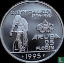 "Aruba 25 florin 1995 ""Centenary of the modern Olympic Games"""