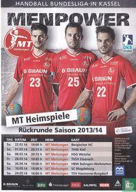 """MT Melsungen / Handball Bundesliga """"Menpower"""""""