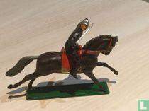 Vechtende Ridder te paard