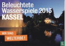 Kasselmarketing - Beleuchtete Wasserspiele 2013