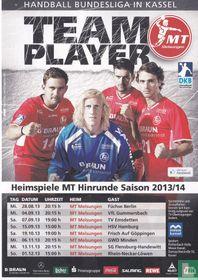 """MT Melsungen / Handball Bundesliga """"Team Player"""""""