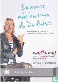Deutscher Bundestag - Wahl 2013