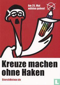 """Storch Heinar """"Kreuze machen ohne Haken"""""""