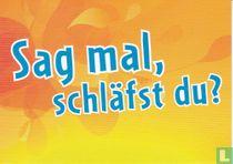 """Verkehrsverbund Warnow - Schüler Ticket """"Sag mal, schläfst du?"""""""