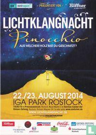 IGA Park Rostock - Lichtklangnacht - Pinocchio