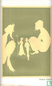 Silhouette knip Sprookje van H.C. Andersen