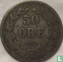 Schweden 50 Öre 1880