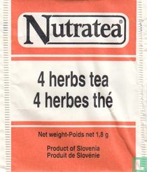 4 herbs tea