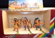 Indianen te voet