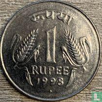 India 1 rupee 1998 Bombay