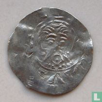 Deventer 1 penning 1046-1054 [Lebuïnus]