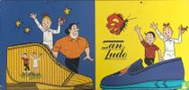 Suske en Wiske reclamebord San Ludo