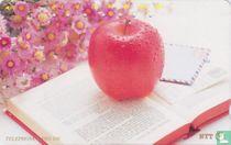 Apple On Book