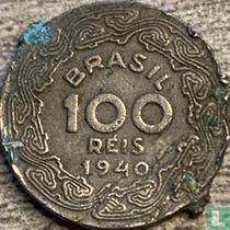 Brazilië 100 réis 1940
