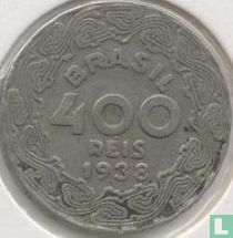 Brazilië 400 réis 1938 (Getúlio Vargas)