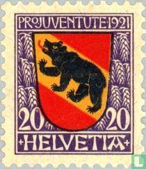 Wapenschild van het kanton Bern
