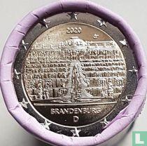 "Duitsland 2 euro 2020 (F - rol) ""Brandenburg"""