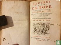 Oeuvres diverses de Pope