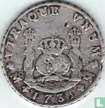 Mexico 8 reales 1739