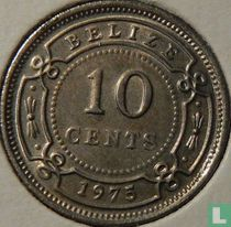 Belize 10 cents 1975