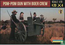 Pom-Pom Gun with Boer Crew