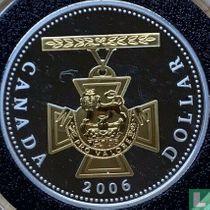 "Canada 1 dollar 2006 (PROOF - gekleurd) ""150th anniversary Creation of the Victoria Cross"""