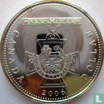 "Canada 1 dollar 2006 ""150th anniversary Creation of the Victoria Cross"""