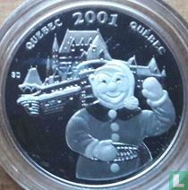 "Canada 50 cents 2001 (PROOF) ""Quebec carnival"""