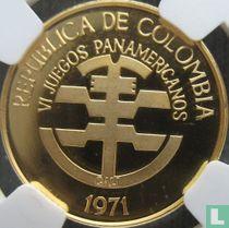 "Colombia 100 pesos 1971 (PROOF) ""6th Pan-American Games in Cali"""