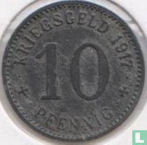 Ahlen 10 Pfennig 1917