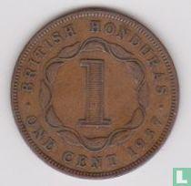 Brits-Honduras 1 cent 1937