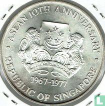 "Singapore 10 dollars 1977 ""10th anniversary of ASEAN"""