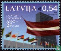 Letland 25 jaar lid van VN