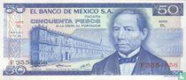 Mexico 50 Pesos
