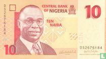 Nigeria 10 Naira 2007
