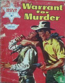 Warrant for Murder