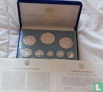 Belize jaarset 1974 (PROOF - zilver)
