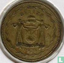 """Belize 5 cents 1976 """"Fork-tailed flycatchers"""""""